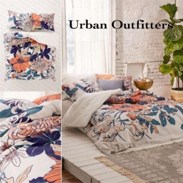 Urban Outfitters★ボタニカル布団カバー