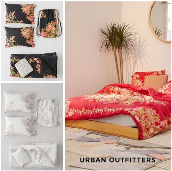 Urban Outfitters☆アナリシスフローラルメダリオン寝具QUEEN