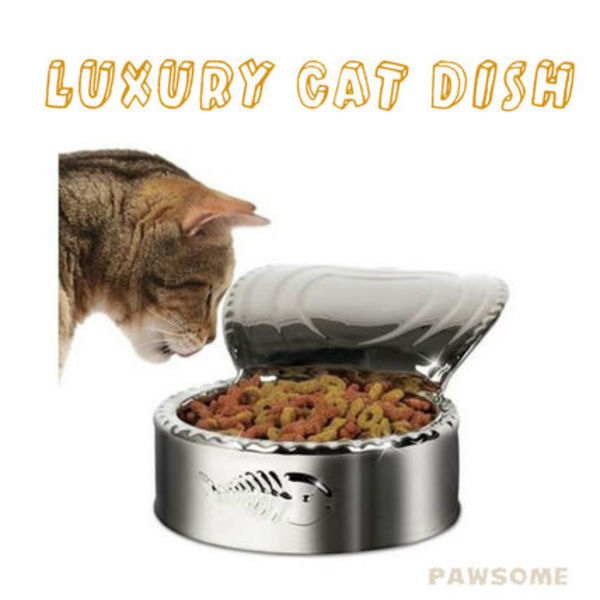 Luxury Cat Dish フードボール