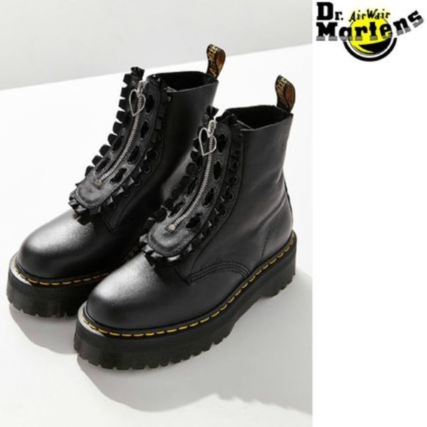 Dr Martens x LAZY OAF JUNGLE BOOT★コラボ★ハート ジッパー
