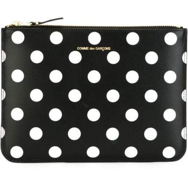 【2018SS新作】COMME des GARCONS Polka Dots 水玉 クラッチ