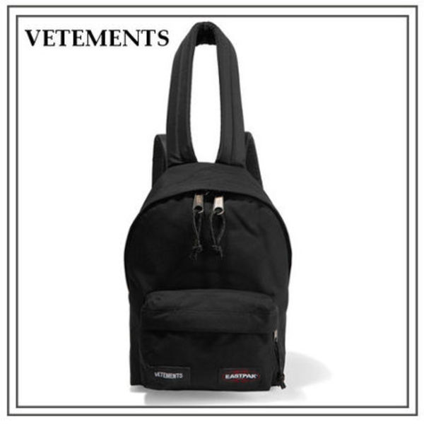 2017SS新作★Vetements×Eastpak★キャンバス バックパック