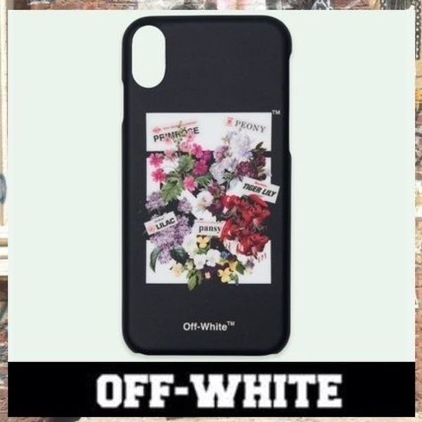 《最新作!!》18SS [OFF-WHITE] FLOWERSHOP iPhone X ケース