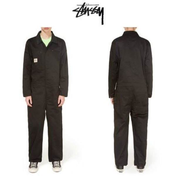 【STUSSY】☆18SS最新作☆POLY COTTON COVERALL