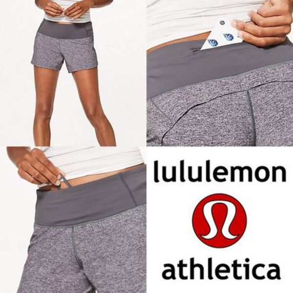 lululemon☆Run Times Short II ショートパンツ dark carbon