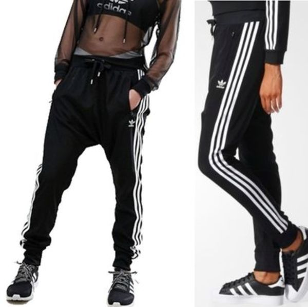 ADIDAS Women's Originals☆Trefoil Low Crotch Pants BJ8186