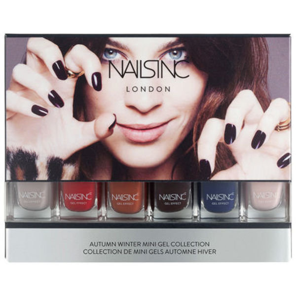 Nails Inc ☆ Autumn Winter Mini Gel Collection 6点入セット