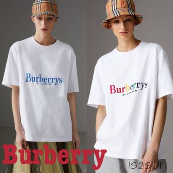 2018SS 最新作 Burberry/Reissued Cotton T-shirt