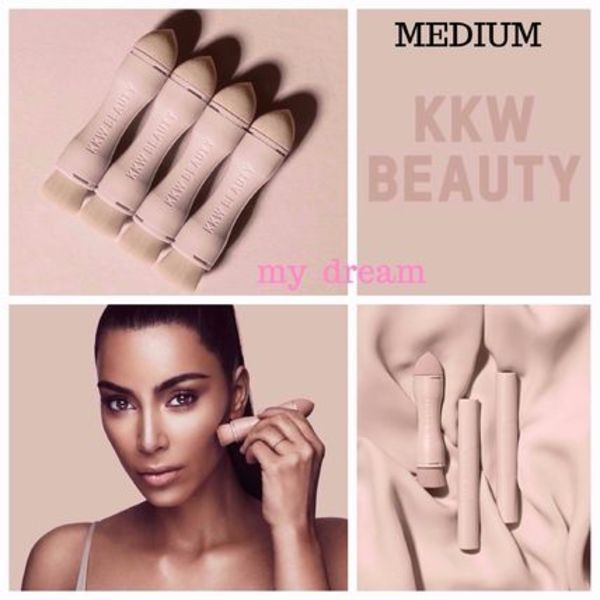 限定★KKW BEAUTY★CONTOUR & HIGHLIGHT(Medium)