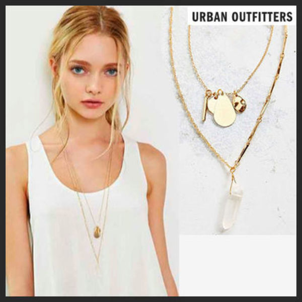【Urban Outfitters】大人気★2連ネックレス【関税・送料込】