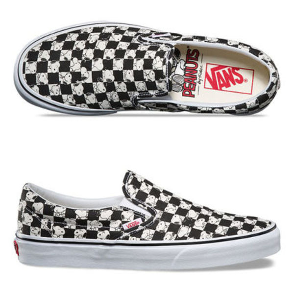 ★VANS★THE PEANUTS Slip-on CHECKERBOARD★送料込/追跡付