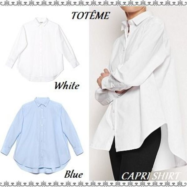 【関税送料込】simple is best◆TOTEME◆CAPRI SHIRT◆ブラウス