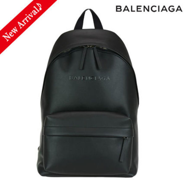 VIPセール♪♡BALENCIAGA EVERY DAYバックパック,Black