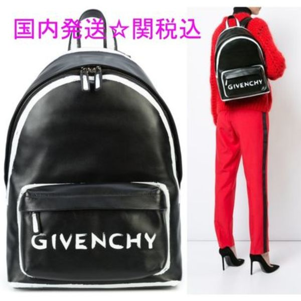 GIVENCHY★ロゴ BACKPACK 送関込