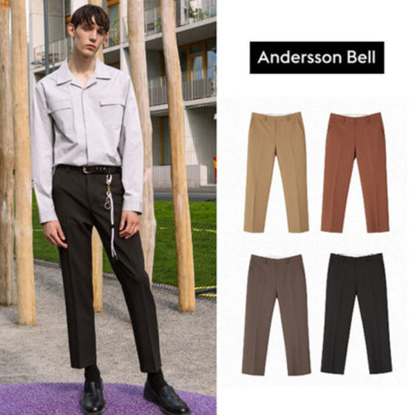 ANDERSSON BELL正規品★全4色★SODALテーパードトラウザーズ
