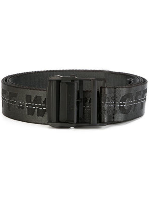 関税送料込み Off-White INDUSTRIAL BELT/BLACK