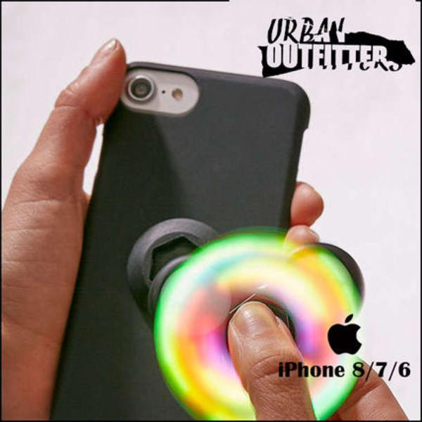 Urban Outfitters☆ ハンドスピナー付き!! iPhoneケース (6/7/8)