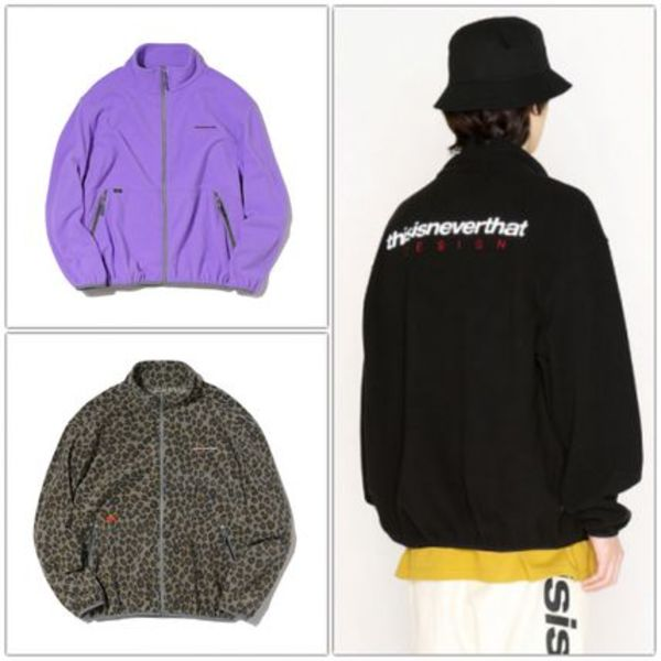 日本未入荷 [THISISNEVERTHAT] Fleece Jacket