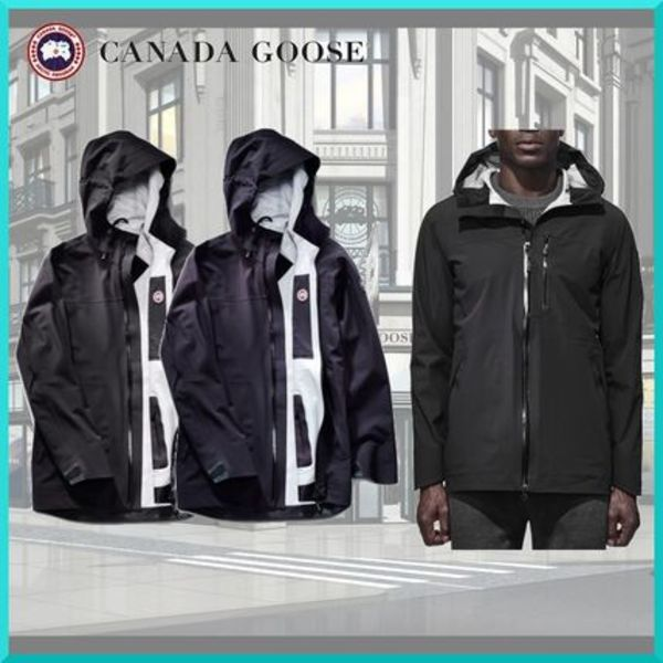 希少!!CANADA GOOSE(カナダグース) Coastal Shell Black Label