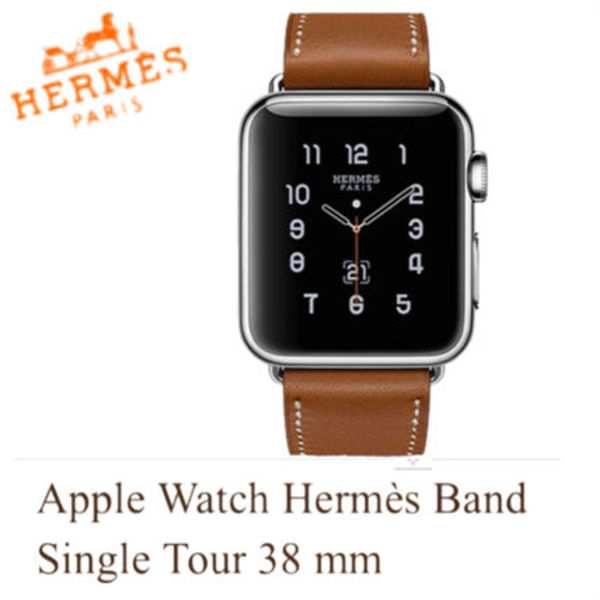 HERMES★Apple Watch Hermes Band Single Tour 38 mm