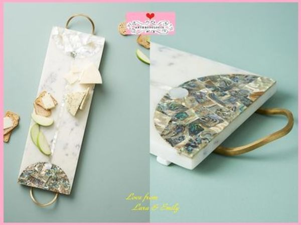 18SS☆最安値保証*関送料込【Anthro】Nina Marble Cheese Board
