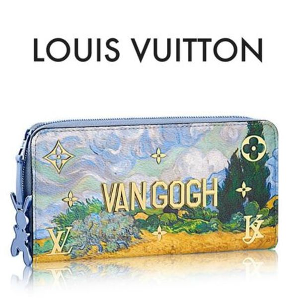 LOUIS VUITTON  ★MASTERS ジッピー・ウォレット ファン・ゴッホ