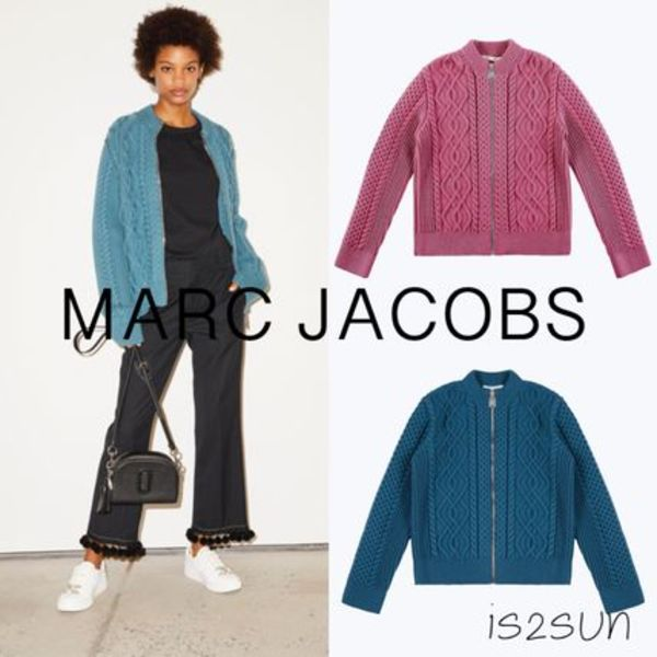 ★日本未入荷★ 最新作 MARC JACOBS/Cable Knit Cardigan
