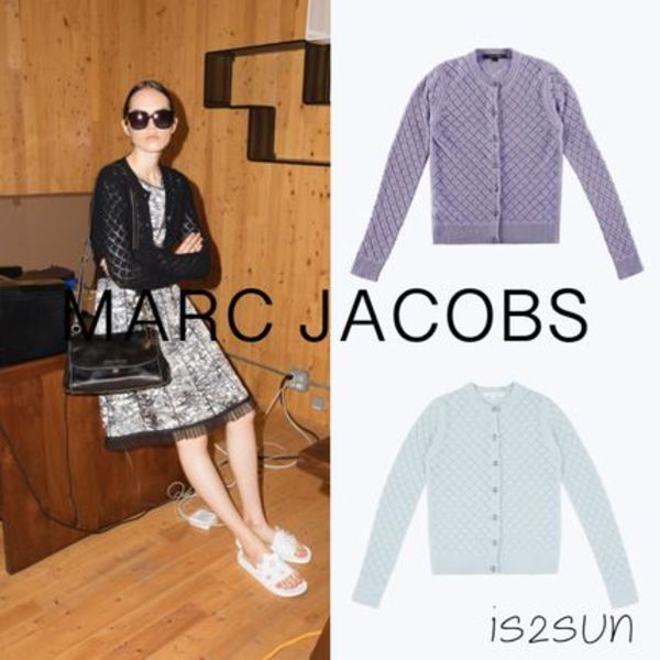 ★日本未入荷★ MARC JACOBS/Long Sleeve Cardigan 100%カシミア