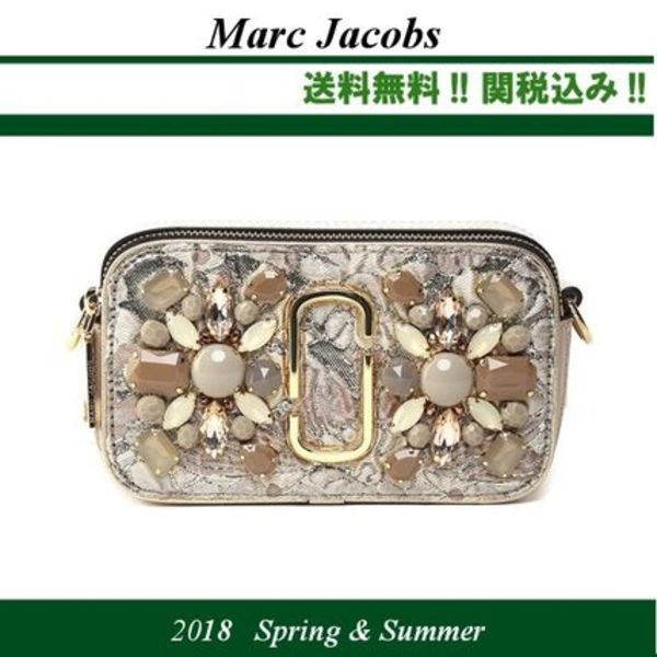 2018SS★関税込★MARC JACOBS Snapshot Floral cross-body bag