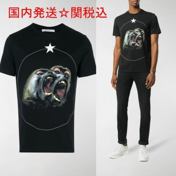 GIVENCHY★Monkey Brothers プリント Tシャツ 送関込