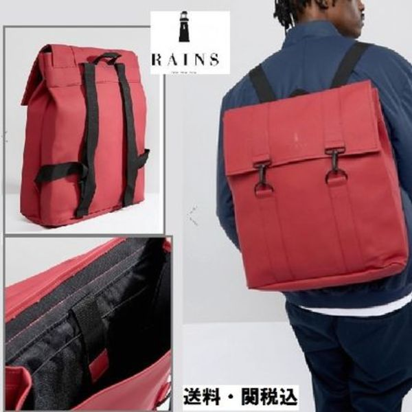 Rains 1213 Messenger バックパック In Red