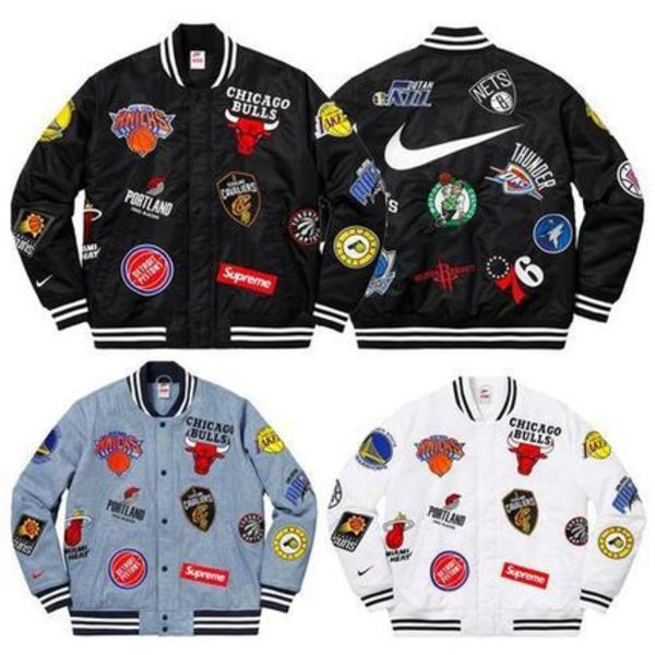 3 week SS18 (シュプリーム) X Nike x nba teams warm up jacket