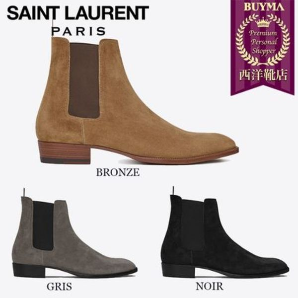 SAINT LAURENT 17SS┃CLASSIC WYATT 30 CHELSEA BOOT