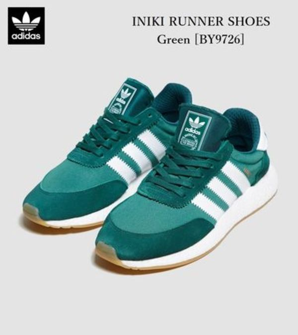 adidas Originals *INIKI RUNNER SHOES[BY9726]*緑