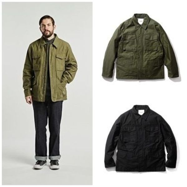 日本未入荷ESPIONAGEのCove M-51 Field Jacket 全2色