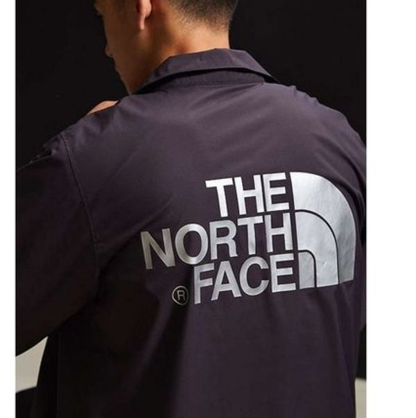 送料込み★海外限定★The North Face Logo Coach Jacket Black