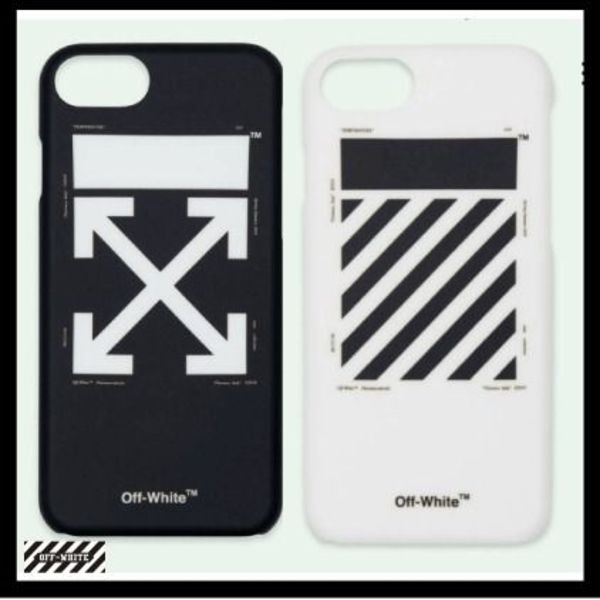 残り僅か!!【OFF-WHITE】WHITE DIAG IPHONE 8/7 CASE【送関込】