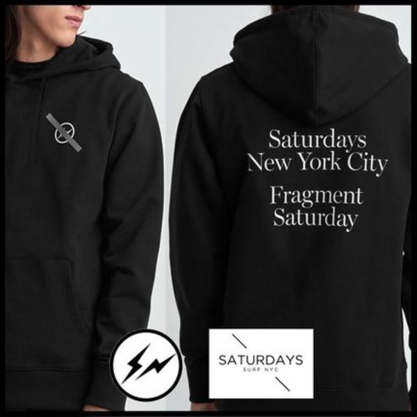 ★希少!限定コラボ★Saturdays NYC x Fragment Design Hoodie★