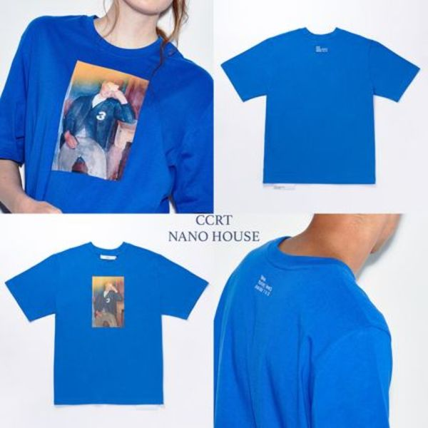 【日本未入荷】★CCRT★'SERIES 1 TO 10 ver.2' T-SHIRT;3.BLUE