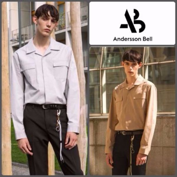【ANDERSSON BELL】正規品★SAINT OPEN シャツ 2色/追跡送料込