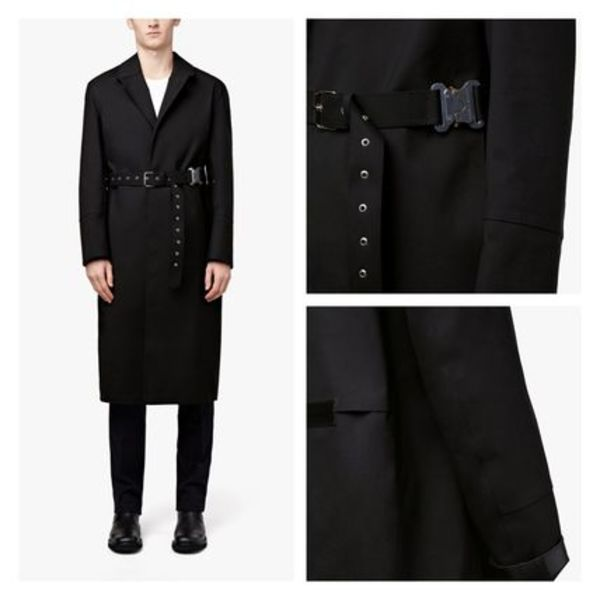 限定コラボ!!「Alyx×Mackintosh」 BONDED COTTON BELTED COAT