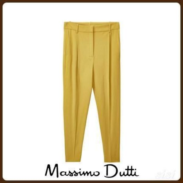 MassimoDutti♪FLOWING TROUSERS WITH DARTS
