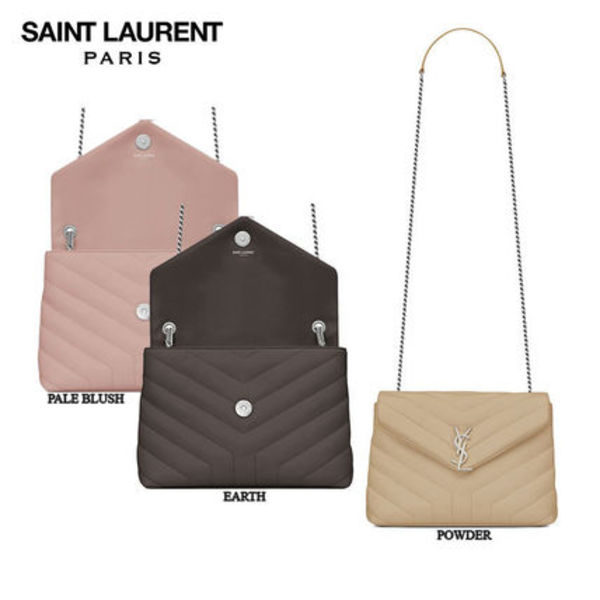 【正規品保証】SAINT LAURENT★18春夏★SMALL LOULOU CHAIN BAG