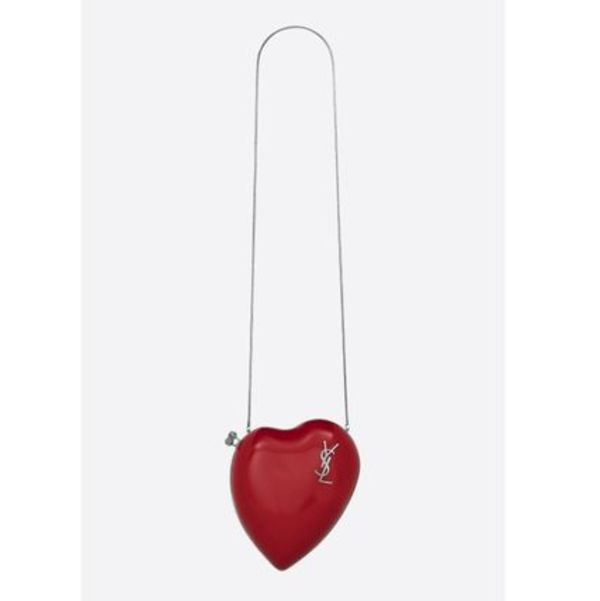 LOVE BOX BAG IN RED PATENT LEATHER