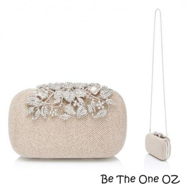 NEW☆品よく輝く【Erin Embellished Clutch Bag】Forever New