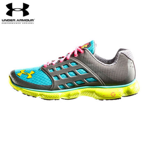UA WOMEN'S UA MICROG  CONNECT RUNNING SHOES GR