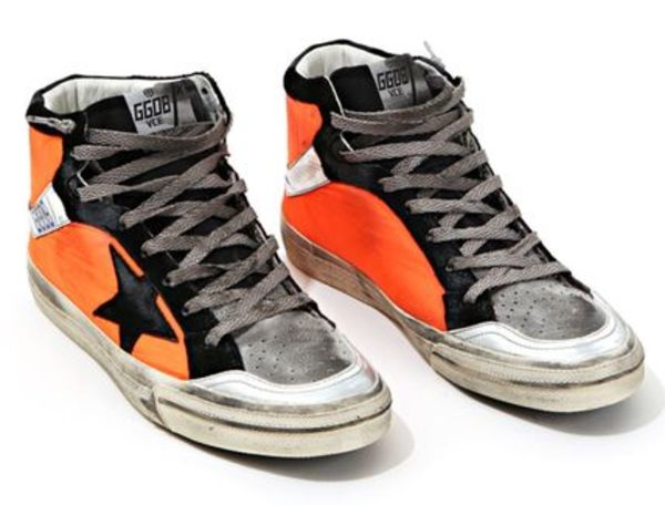 【関税負担】 Golden Goose 2.12 ORANGE NYRON/EMS