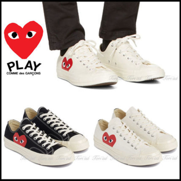 COMME des GARCONS PLAY × Converse★Chuck Taylor  ローカット