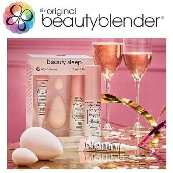 限定★beautyblender x Too Faced コラボ Beauty Sleep 4点set