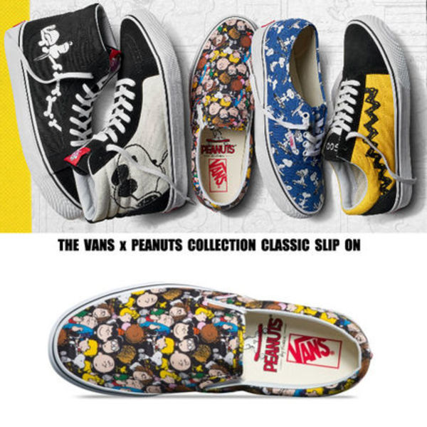 VANSxPEANUTS COLLECTION★コラボ★CLASSIC SLIP ON